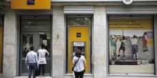 Avant leur fermeture, les banques grecques ont été le premier témoin d'un début de panique de la population