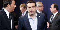 Dans son compte Twitter, Tsipras a dénoncé mercredi qu'un tel refus répété de mesures équivalentes ne s'est jamais produit avant -ni en Irlande ni au Portugal.