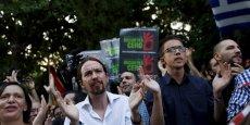Pablo Iglesias, dirigeant de Podemos, a été renforcé par la consultation interne à son parti.