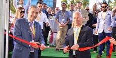 Matthew Johnston, directeur général, et Franck Berger, directeur adjoint, ont inauguré les nouveaux bureaux en mai dernier.