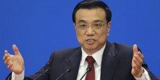 Li Keqiang, Premier ministre chinois.