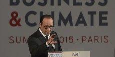 François Hollande mise sur la réussite de la COP-21, conférence sur le cilmat début décembre à Paris