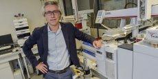 Philippe Guillomet dirige le laboratoire œnologique Laffort qui travaille sur une extension de ses compétences en abordant le monde de la viticulture et de l'agriculture en général.