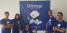 L'équipe de Wemap est basée à Cap Omega à Montpellier.