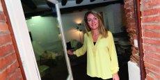 Myriam Carré loue depuis quelque semaines un appartement de charme en plein centre de Toulouse