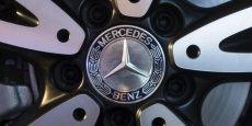 Mercedes devient numéro un des marques premium en novembre.