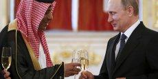 Vladimir Poutine recevait l'ambassadeur d'Arabie saoudite Abdulrahman Al-Rassi au Kremlin, fin mai.