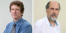Jacques Oberti, président PS du Sicoval, et Gérard Bolet, 1er vice-président EELV