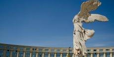 La Victoire de Samothrace représente la déesse grecque de la victoire, Nikè.