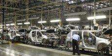 Les ventes de voitures neuves avaient baissé de 7,2% au Brésil en 2014.