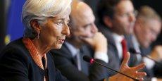 Christine Lagarde, la patronne du FMI, conditionne la participation du FMI au troisième plan d'aide à la Grèce à un allègement de sa dette.