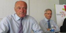 Alain Rousset, président de la Région, et Thierry Le Hénaff, PDG d'Arkema