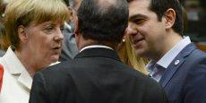 François Hollande a salué une décision historique de l'Union européenne ainsi que le choix courageux d'Alexis Tsipras.