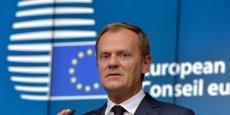 Afin d'éviter un Brexit, Donald Tusk, président du Conseil européen,  prend son bâton de pèlerin lundi et mardi afin de convaincre les Etats membres les plus réticents, et boucler le projet d'accord qu'il soumettra aux chefs d'Etat et de gouvernement en fin de semaine.