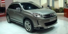 La Citroën C4 Aircross dévoilée en avril à Shanghaï doit signer le repositionnement de la marque aux chevrons.