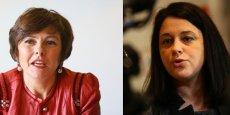 Carole Delga (PS) et Sylvia Pinel (PRG)