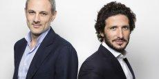Philippe Corrot (à g.) et Adrien Nussenbaum (à dr.) ont créé Mirakl en 2011. Ils affichent un objectif de chiffre d'affaires de 10 millions d'euros en 2015 et se disent rentables (aucun compte n'a été officiellement déposé au tribunal de commerce pour l'instant).