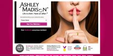 Ashley Madison compte plus de 37 millions de membres à son service de rencontres adultères.