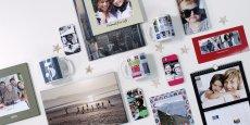 Pour séduire ses clients, PhotoBox ne cesse de proposer de nouveaux supports personnalisables.