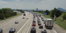 L'autoroute A7 (photo d'illustration)