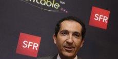 Patrick Drahi, le patron d'Altice, la maison-mère de Numericable-SFR.