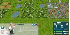 Capture d'écran du serious game Zones humides protect