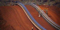 Le deuxième plus important groupe minier du monde est fortement dépendant du minerai de fer, un élément clé entrant dans la fabrication de l'acier.