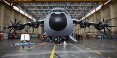 L'avion de transport militaire européen A400M