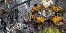 L'attaque terroriste du lundi 18 août a visé le temple hindouiste d'Erawan. Un sanctuaire, très prisé des fidèles et des touristes, en plein centre de la capitale.