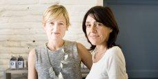 Carole Garcia et Nathalie Juin, fondatrices de Graine de Pastel, cherchent des franchisés