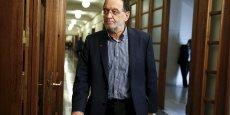 L'ancien ministre de l'énergie grec, Panayiotis Lafazanis, a créé Unité Populaire à partir des frondeurs de Syriza