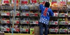 Les foyers japonais ont été moins dépensiers sur la période passée en revue, déboursant en moyenne 280.471 yens (2.062 euros).