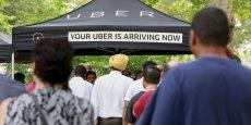 La division chinoise d'Uber serait ainsi valorisée 7 milliards de dollars
