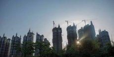 Chongqing et ses immeubles internationaux à l'esthétisme douteux.