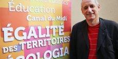 Gérard Onesta, tête de liste EELV pour les régionales en Lanuedoc-Roussillon-Midi-Pyrénées.