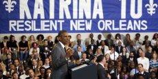 Dans son discours, prononcé le 27 août dans un centre communautaire reconstruit, le président a salué la renaissance de la Nouvelle-Orléans et la résilience de ses habitants.