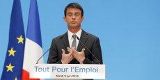 Manuel Valls veut alléger le Code du travail en donnant davantage de poids aux accords d'entreprise