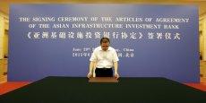 Une cinquantaine de pays (dont la France, l'Italie, l'Allemagne et le Royaume-Uni) ont déjà rejoint l'AIIB.