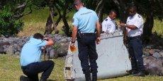 Les enquêteurs ont pu confirmer la provenance de ce morceau d'aile grâce à un numéro de série détenu par un sous-traitant de Boeing basé à Séville.