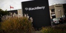 BlackBerry, qui a réduit ses activités de fabrication de smartphone, s'est recentré sur les services de télécommunications aux entreprises.