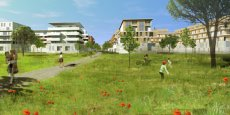 Le quartier Eurêka, sur la commune de Castelnau-le-Lez, livrera ses premiers programmes en 2018.