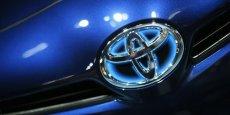 Toyota a revu ses prévisions de résultats en forte baisse pour l'année en cours.