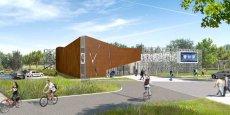 Le futur hôtel d'incubation de l'UPVD a été dessiné par l'architecte perpignanais Jacques Outier