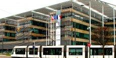 L'Hôtel de la Région Alsace, à Strasbourg, qui sera la capital de la future Région Grand Est.
