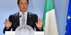 Matteo Renzi met entre parenthèses les règles européennes...