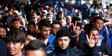 Le week-end dernier, face à l'afflux de migrants, l'Allemagne suspend provisoirement les accords de Schengen