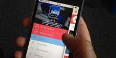 Sur la nouvelle application mobile de France Bleu, un bouton permettant d'être mis en relation avec le standard de la radio et donc d'intervenir en quelques secondes dans l'émission diffusée à l'antenne.