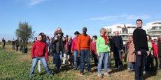 Les citoyens porteurs du projet d'habitat participatif Mas Cobado, à Montpellier.