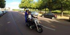 Petit ride en Harley via l'application Mapool. La start-up a obtenu le soutien de la BPI et de la Région Ile-de-France. Elle est incubée à la pépinière 27, rue du Chemin Vert, à Paris, dans le 11e arrondissement.