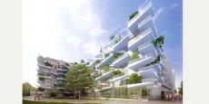 Le projet immobilier Prado Concorde transformera l'entrée de ville de Castelnau-le-Lez en 2019.